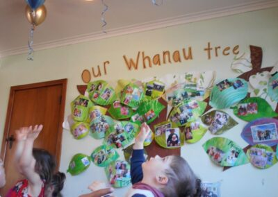 Our Little Sprouts Montessori Whanau tree