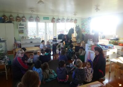 Classroom activities at Little Sprouts Montessori in Whakatane
