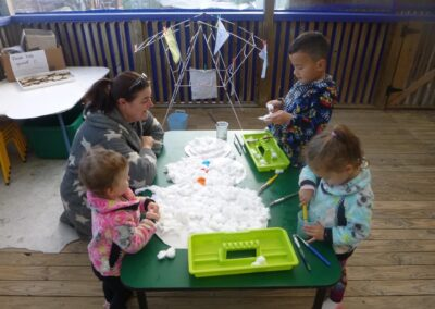 Little Sprouts Montessori classroom activities